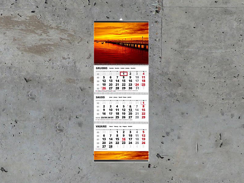 Kalendorius TRIO